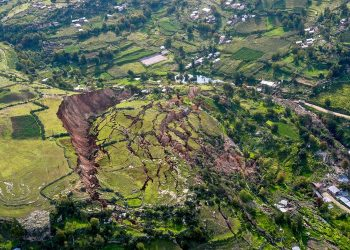 At least 29 people have died in landslides caused by severe weather in West Pokot county, Kenya (PHOTO/Courtesy).