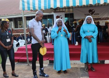 Bryan White has left nuns from Mapeera Bakateyamba Home of the elderly in Nalukolongo, Kampala