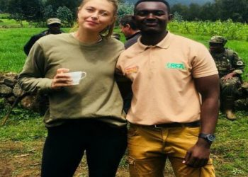 Maria Sharapova, a Russian professional tennis player commences her visit in Rwanda (PHOTO/Courtesy).