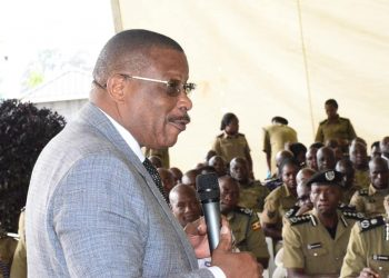 On Tuesday,  Med Kaggwa addressed a Police Council retreat at Naguru Police Headquarters, an event President Museveni also attended (PHOTO/Courtesy).