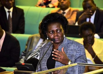 Sarah Achieng Opendi, (State Minister of Health