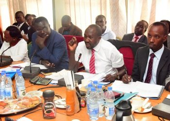Parliamentary Public Accounts Committee during a sitting recently (PHOTO/File)