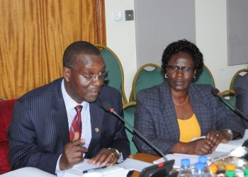 Pius Bigirimana Secretary to Judiciary asked Parliament (PHOTO/Courtesy).