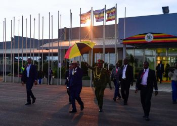 Mr. Museveni has left for the Ethiopian capital, Addis Ababa, where he  will join other regional leaders for the 13th ordinary summit of the Inter-governmental Authority on Development (PHOTO/PPU)