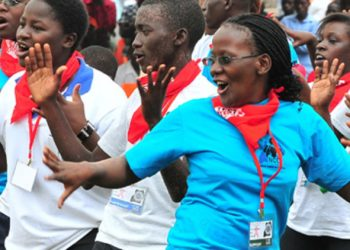 Previous World Aids Day celebrations at Kololo airstrip in Kampala (PHOTO/File)