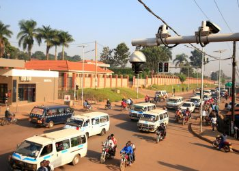Some of the CCTV cameras that were installed in Kampala. The same will be installed in Ntungamo district to help fight the increasing criminality