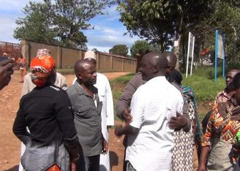 Suspects jubilate after release