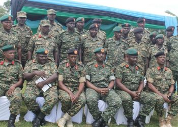 Chief of Defence Forces General David Muhoozi in