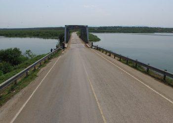 Uganda Kazinga Channel Bridge damaged