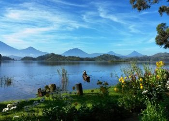 Mutanda Lake Resort is perched on private peninsula with stunning views on the Virunga Mountain Range.Situated between Kisoro town, Mgahinga and Bwindi National Parks the Resort makes a perfect base for gorilla trackers, volcano hikers,bird lovers as well as those looking for a secluded place in nature (PHOTO/File)
