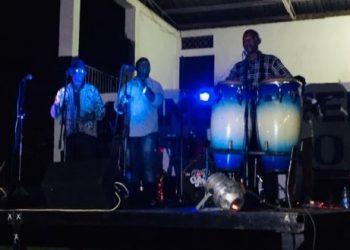 Afrigo band performing live