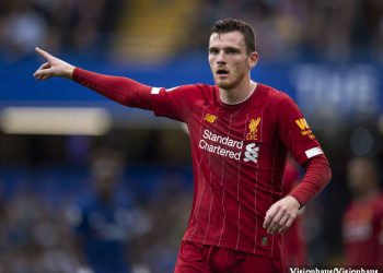 Andrew Robertson assisted Sadio Mane for Liverpool's opener in the win over Crystal Palace on Saturday. (PHOTO/Courtesy)