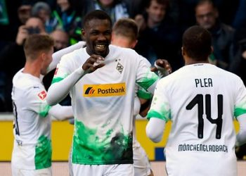 Gladbach hold a four points lead at the top of the Bundesliga. (PHOTO/Courtesy)