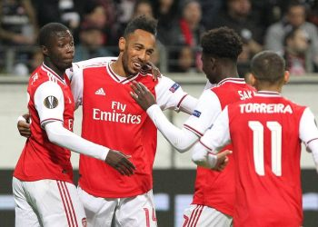 Arsenal will reach the last 32 if they avoid defeat on Thursday. (PHOTO/Courtesy)
