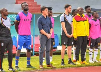 McKinstry (3rd from left) took over from Sebastien Desabre. (PHOTO/File)