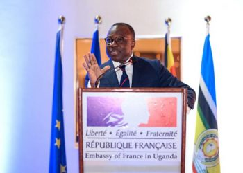Jules Armand Aniambossou French ambassador to Uganda French embassy, Uganda (PHOTO/Courtesy)