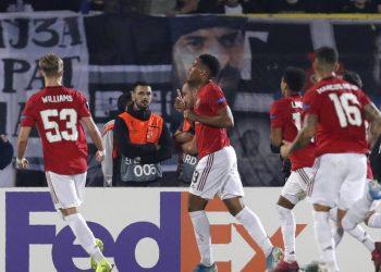 Man United won the first leg 1-0 a fortnight ago. (PHOTO/File)