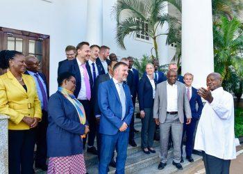 President Museveni hosting