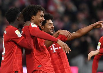 Bayern are now 3rd on the Bundesliga table.