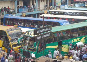One of the bus parks in Kampala (PHOTO/File).