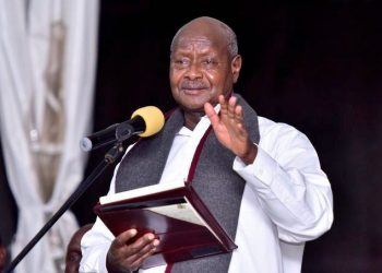 President Yoweri Museveni blames accidents to NRM's 'good' roads (PHOTO/File)