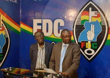 John Kikonyogo, the FDC deputy spokesman