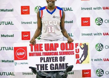 Ageno managed a double double in the win over JKL Lady Dolphins on Wednesday. (PHOTOS/FUBA)