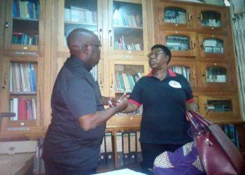 Fr. Gaetano and former Ethics minister Miria Matembe accused government of celebrating corruption (PHOTO/Courtesy)