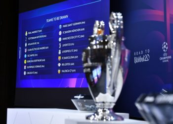 NYON, SWITZERLAND  DECEMBER 16: A general view ahead the UEFA Champions League 2019/20 Round of 16 Draw at the UEFA headquarters, The House of European Football on December 16 2019 in Nyon, Switzerland. (Photo by Harold Cunningham - UEFA/UEFA via Getty Images)