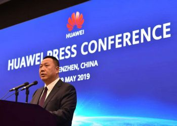 Song Liuping, chief legal officer of Chinese tech giant Huawei (PHOTO/File)