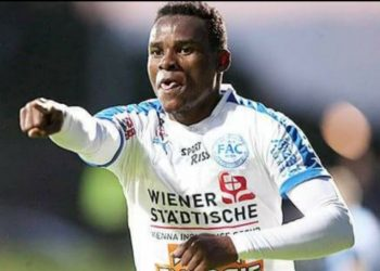 This will be Edrisa Lubega's third European club. (PHOTO/courtesy)