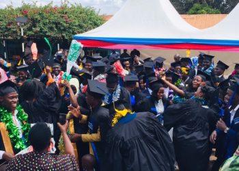 Graduates at St Elizabeth's Institute of Health Professionals Mukono in Mukono Municipality (PHOTO/Elizabeth Namajja)