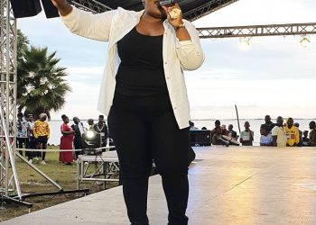 Singer Catherine Kusasira Sserugga has been pelted with bottles while performing at one of the shows (PHOTO/Courtesy)