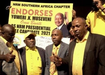 NRM diaspora community say they have endorsed Museveni for next polls (PHOTO/Courtesy)