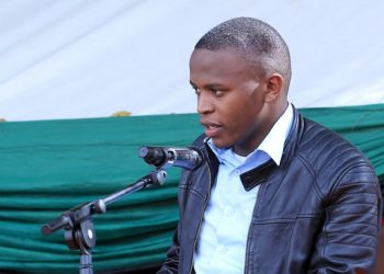 85th Guild President, Julius Kateregga thanked GMD for the fight against sexual harassment at the Inter-University Dialogue on Sexual Harassment (PHOTO/PML Daily)
