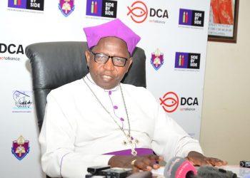 Archbishop of the Church of Uganda The Most Rev Stanley Ntagali
