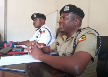 SSP Musinga Norman, the Kampala Metropolitan Police Traffic Commander