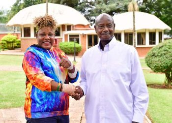 President Museveni pictured here with full figure. Ugndans on social media commented that the president looked frail but he has now clarified the matter (PHOTO/PPU).