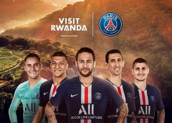 Following a successful partnership with Arsenal, Rwanda has now signed a deal with French football club, Paris Saint-Germain (PSG), arguably the most successful club in French history