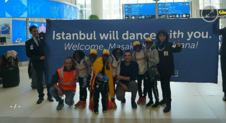 Six talented kids of Uganda-based dance group arrive in Istanbul to raise support for their education