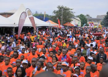 Thousands of children braved the early morning drizzles to take part in the 2019 StarTimes Kids Run on Sunday at the Uganda Museum (PHOTO/PML Daily)