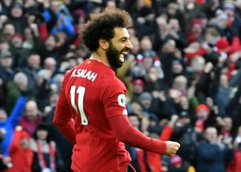 Mohammad Salah scored a brace as Liverpool beat Watford 2-0 on Saturday. (PHOTO/courtesy)