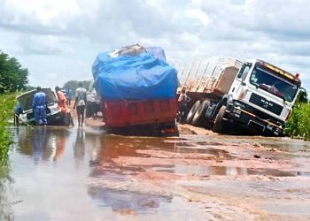 Heavy rains ravaged Hamurwa Bridge in Hamurwa Sub County, Rubanda district halting any form of transport from Kanungu to Rubanda and vice versa (PHOTO/File)