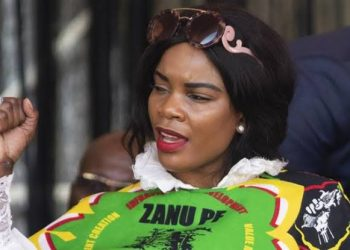 Marry Mubaiwa, the wife of vice-president Constantine Guvheya Nyikadzino Chiwenga
