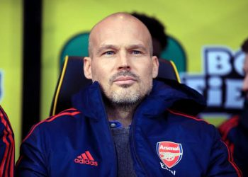 This will be Fredrick Ljungberg's second game in charge of Arsenal. (PHOTO/Courtesy)