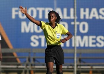 Shamirah Nabadda is one of the officials who were confirmed as 2020 FIFA referees. (PHOTO/Courtesy)
