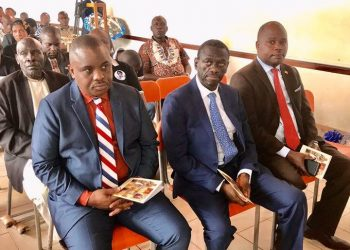 Dr Kizza Besigye and Erias Lukwago at a recent event (PHOTO/Courtesy).