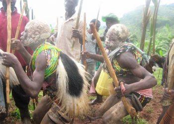 Bagisu boys dance to Imballu