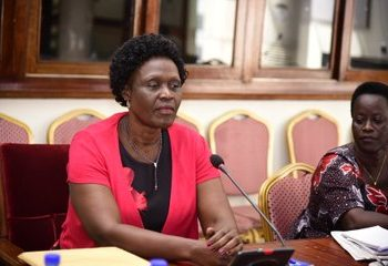 Beatrice Anywar who was appointed as State Minister for Environment has also appeared before the Committee for vetting