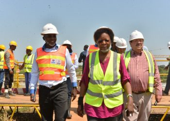 Board of Directors, UEGCL led by board chairperson, Eng. Proscovia Margaret Njuki visited the 600 MW #Karuma HPP site to assess the progress of works